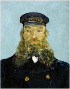 Retrato del cartero Joseph Roulin