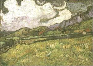 Wheat Field Behind Saint-Paul Hospital