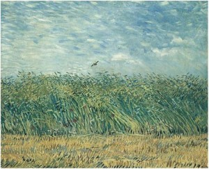 Vincent Van Gogh S Haystacks And Wheatfields